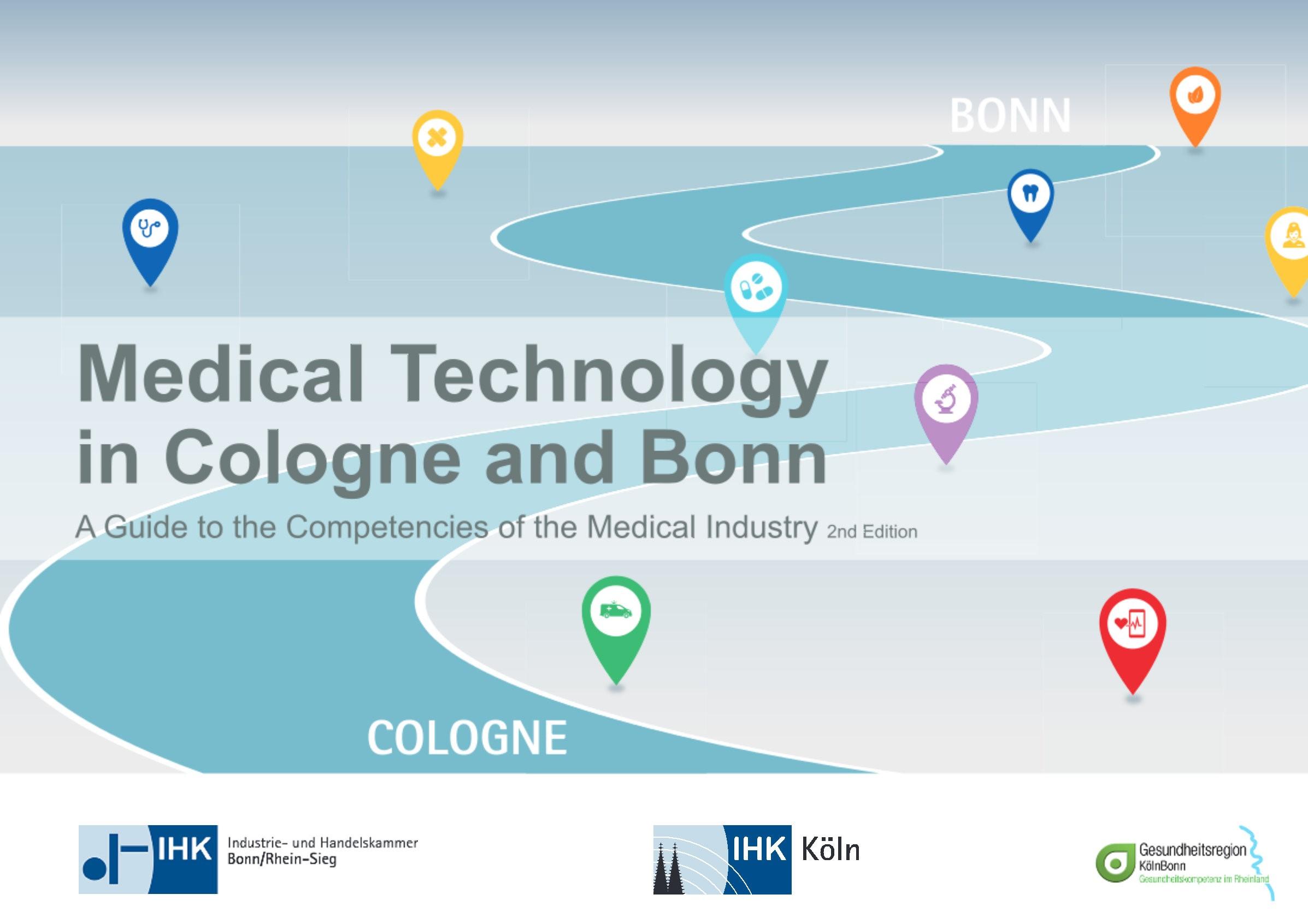 Kompetenzplattform Medizintechnik in der Gesundheitsregion Köln/Bonn – zweite Auflage des Medizintechnikatlas veröffentlicht