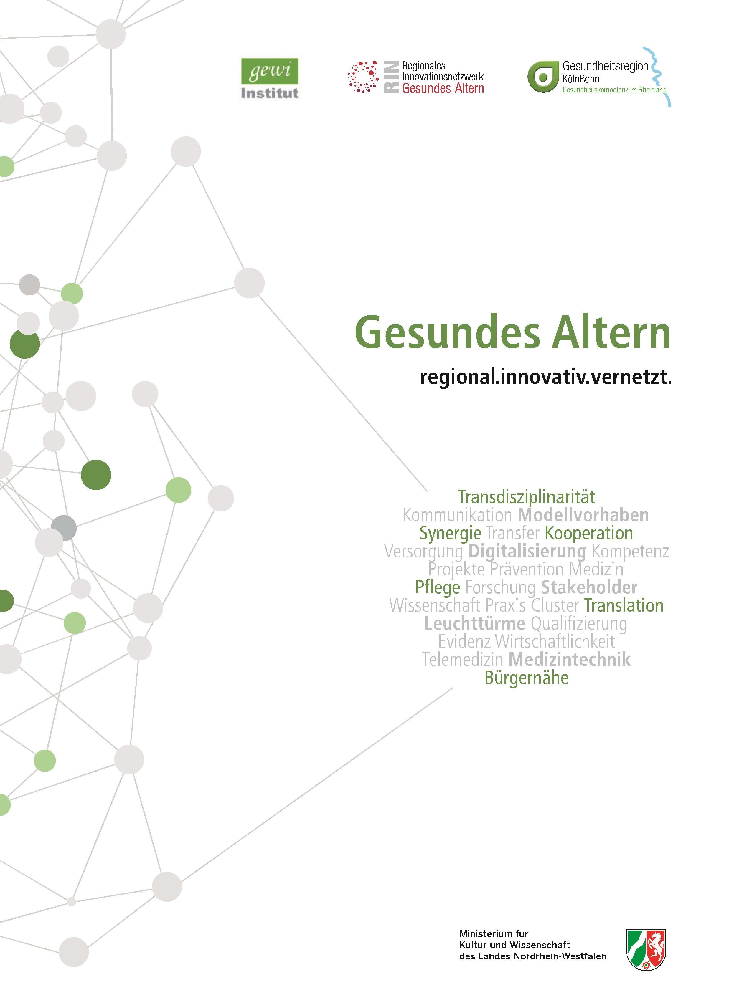 """You are currently viewing Veröffentlichung der Broschüre """"Gesundes Altern – regional.innovativ.vernetzt"""""""