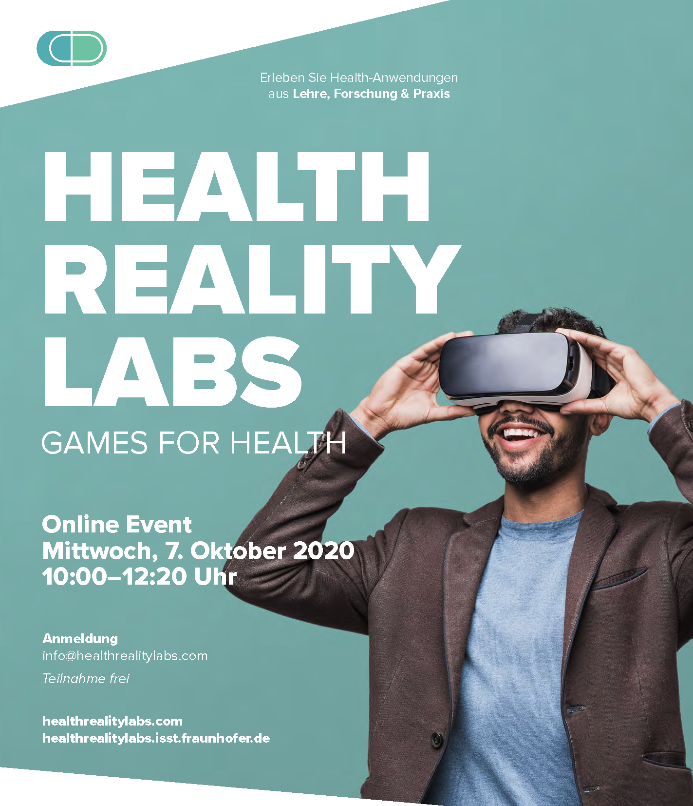 2. Online Event Health Reality Labs: Games for Health