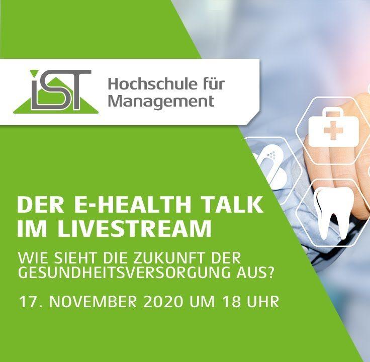e-Health Talk 2020: Wie sieht die Zukunft der Gesundheitsversorgung aus?