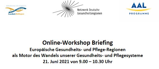 You are currently viewing Online-Workshop 21. Juni 2021: Europäische Gesundheits- und Pflegeregionen als Motor des Wandels unserer Gesundheits- und Pflegesysteme