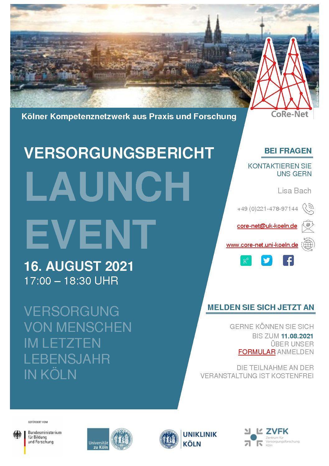 """You are currently viewing Versorgungsbericht Launch-Event: """"Versorgung von Menschen im letzten Lebensjahr in Köln"""""""